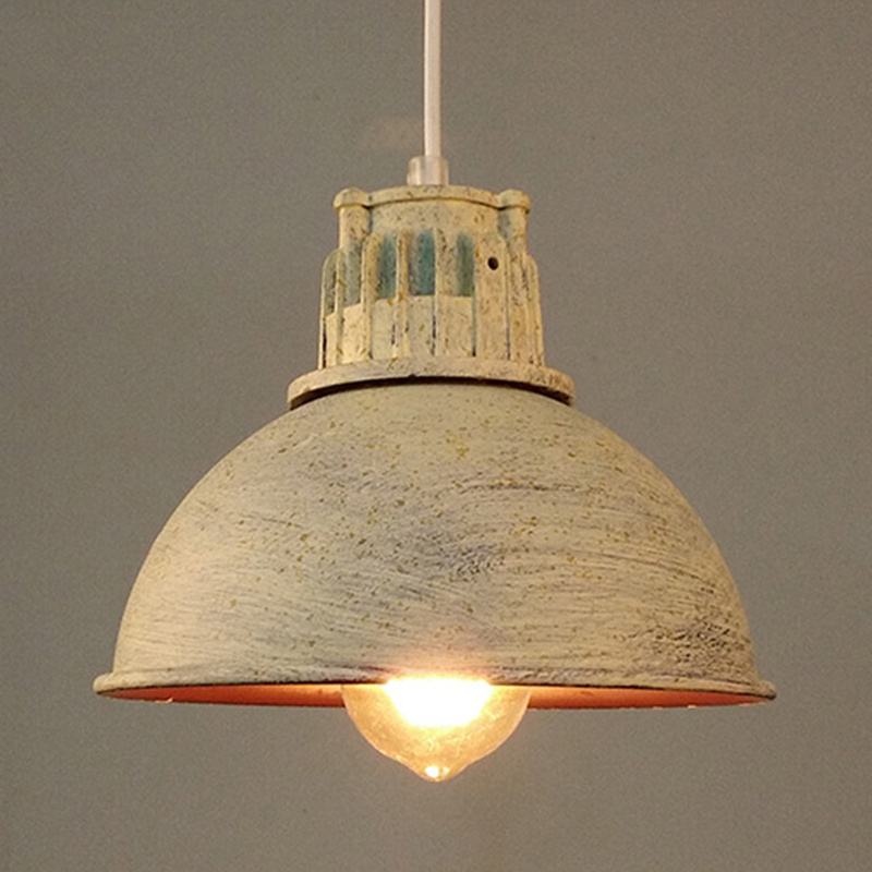 HUANJUNSHI Vintage Pendant Lights Edison Light Lampshade E27 Industrial Retro Lamp Loft Corridor Bedroom Cafe Ceiling Lamp vintage edison chandelier rusty lampshade american industrial retro iron pendant lights cafe bar clothing store ceiling lamp