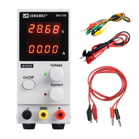 LW K3010D New 4 Digit Display Switching Laboratory DC Power Supply Adjustable 30V 10A High Precision Repair Lab Power Supply DC