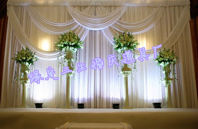 Top Ing Elegance Wedding Backdrops For Decoration Accessories Curtain