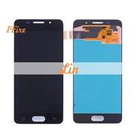 1pcs IFire OLED A3 Lcd For Samsung Galaxy A3 2016 A310 SM A310F LCD Display Touch