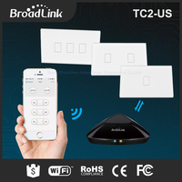 2016 New Broadlink TC2 Light Touch Switch US AU 110V 220V 1Gang Wall Switch Wireless Remote