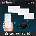 Broadlink tc2 ee. uu./au estándar 1 2 3 banda wifi domótica inteligente Panel de Interruptores de Control Remoto de Luz Led Táctil a través de RM Pro