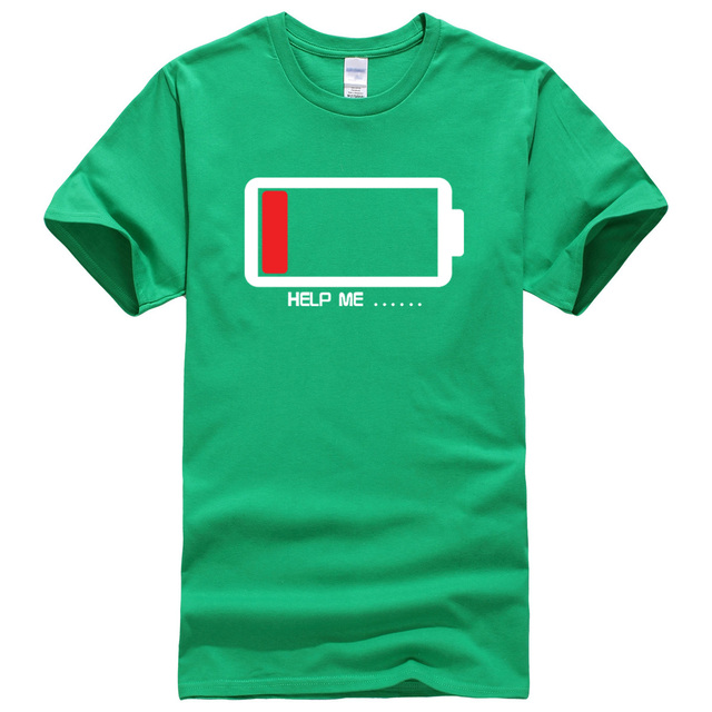 Men's Battery Printed T-Shirt