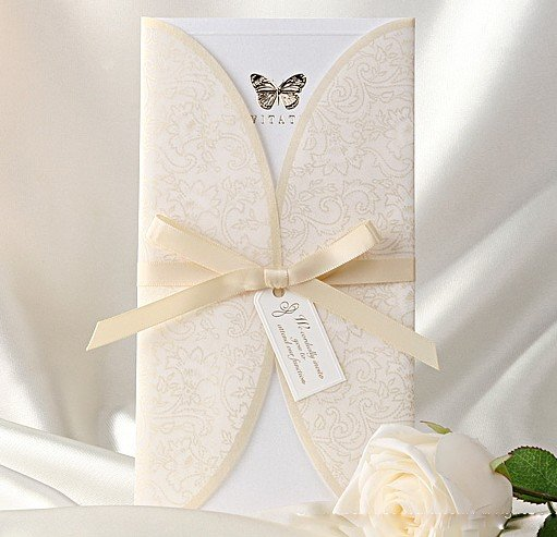 Luxury Cards Include And Envelope Customised Printing Favors Free Shipping Wedding Invitations With Rsvp Included
