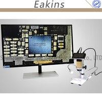 New 10 300X 3.0MP HDMI microscope 1080P microscope soldering microscope digital microscope big working distance microscpe