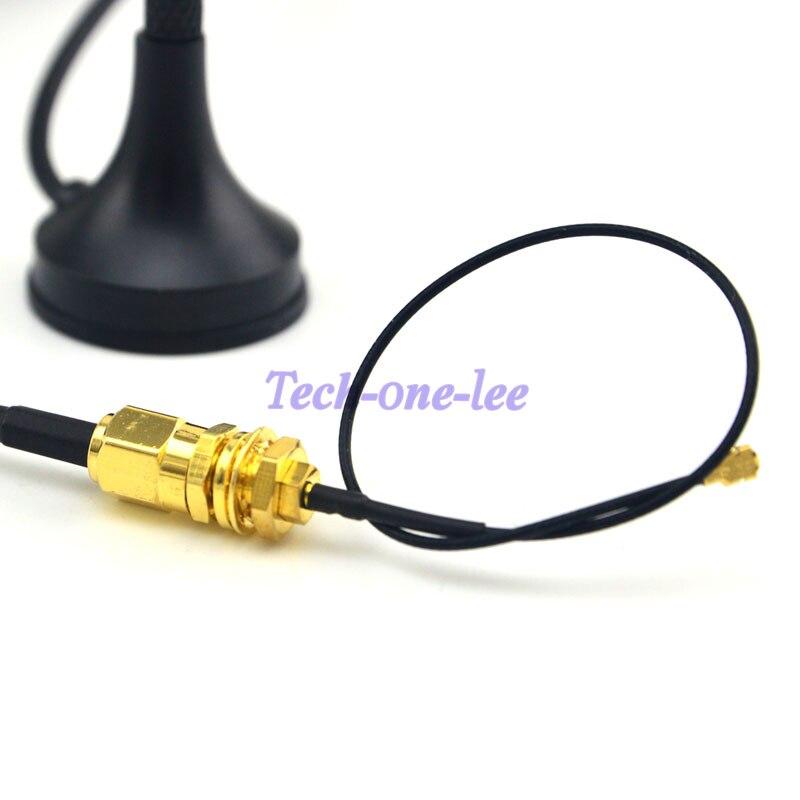 Antena 433 MHz 5dbi SMA Złącze wtykowe Prosto Wifi dla Ham Radio + - Sprzęt komunikacyjny - Zdjęcie 5