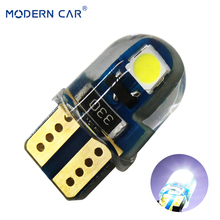 MODERN CAR T10 W5W LED Car Light 3030 2SMD Chips 194 168 501 Turn Signal Lights Bulb Lamps For Auto Reading Dome Clearance Light 4pcs signal lamp 3030 t10 led car bulb w5w 194 168 led t10 led lamps for cars white 5w5 clearance backup reverse car light 12v