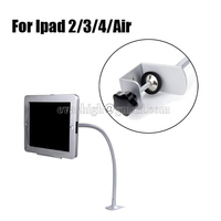 Flexible House Ipad Security Lock Tablet Table Mount Flat Pc Display Enclosure Computer Lock Case With
