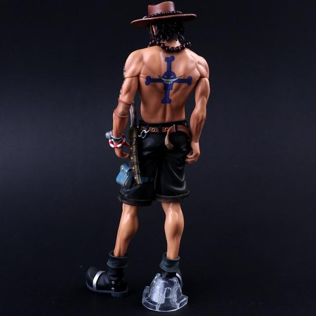 Аниме фигурка Эйс Ван Пис 29 см ПВХ кукла 3