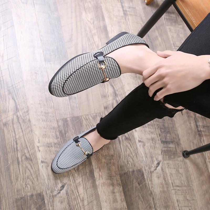 Casual Classique Chaussures Casuals Denim White Toile Taille Les Glissement Shoes'breathable Bateau Hommes Sur Mocassins Black And 48 ONnw8P0kXZ