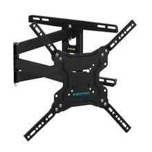 ТВ Кронштейн Kromax DIX-19 Кронштейн для (22-65 дюйма,  нагрузку 45 кг, 5 ст свободы, наклон +5° -15°, поворот 180°)