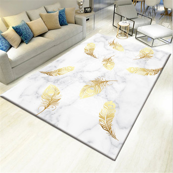 Nordic geometric carpets Living room coffee table Mat Home decor rugs Creative 3D Printed carpet alfombras para la sala moderna