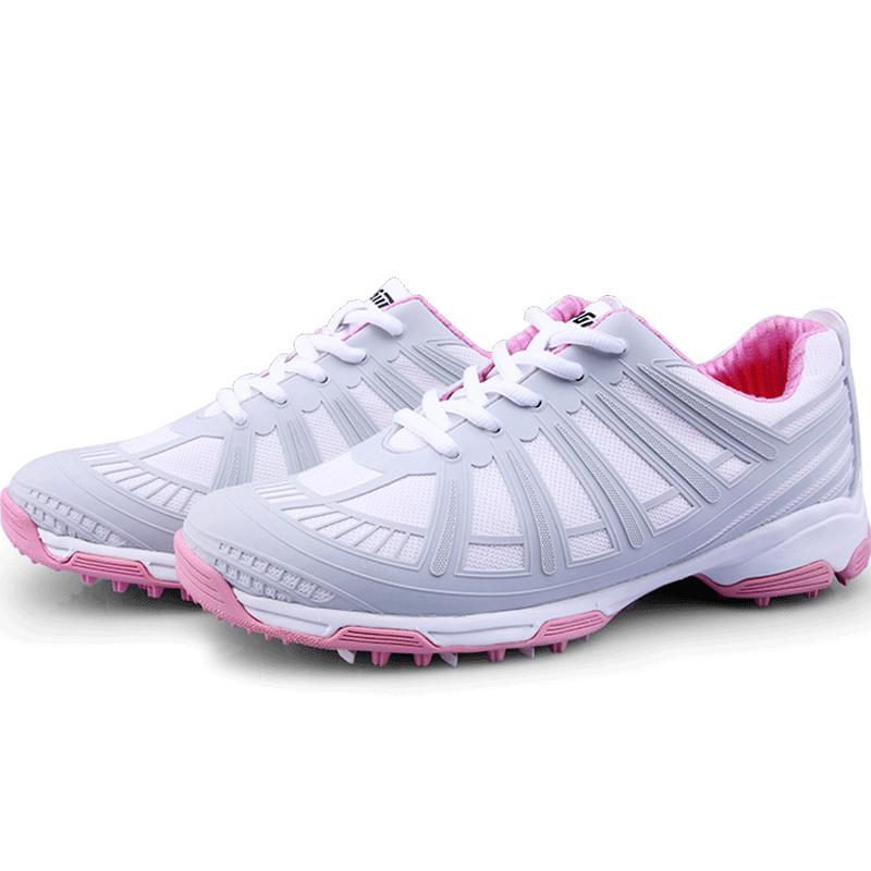 купить Brand PGM Adult Womens Ladies Girls Women Golf Sports Shoes Sneakers Lightweight & Breathable & Steady & Waterproof XZ088 по цене 5015.63 рублей