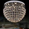 Dia80 H55cm Wholesales Modern Ball Sphere Design Large Crystal Chandelier For Living Room Lustre Home Lighting