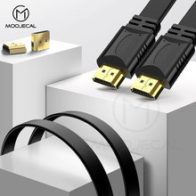 MOOJECAL High Quality 0.5m 1.5m Full HD HDMI Cable Support 3D for Xiaomi Projector Nintend Switch PS4 Television TV xbox 360