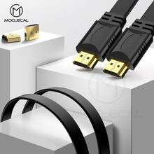 MOOJECAL High Quality 0.5m 1.5m Full HD HDMI Cable Support 3D for Xiaomi Projector Nintend Switch PS4 Television TV xbox 360(China)