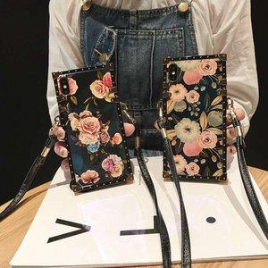 Image 3 - Luxury laser flower crossbody bag soft strap case for huawei P30 pro P20 P20lite nova 3e 2s 3i nova4 mate20 pro cover chain girl