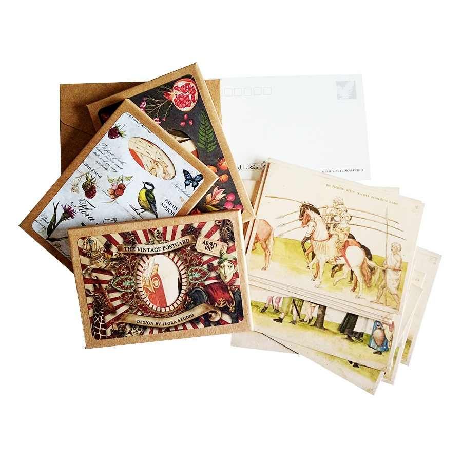 16 Pcs/lot Retro Ancient people's Life Postcard Greeting Cards Christmas Card Birthday business Card Gifts