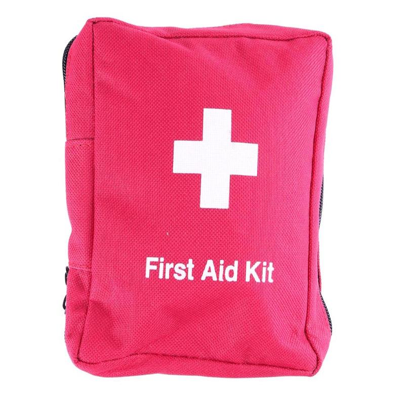 Portable Folding Outdoor Camping Waterproof Emergency Bag Medical First-aid useful 1 Piece Kit Survival bag Hunt Travel Bag 50pcs lot cute waterproof band aid bandage sticker baby kids care first band aid travel camping medical emergency kit c653