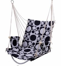 Outdoor Patio Swings Hanging Adult Garden Swing Chair  Cotton Sponge Cushion Hanging Soft  Balcony Chair