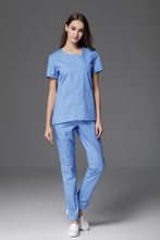 New Arrival Medical Women's Scrub Tops and Pants Sets for Nurses