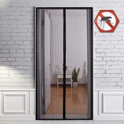 3 rozmiary bez użycia rąk letnie zasłony przeciw komarom szyfrowanie moskitiera na drzwiach magnesy zasłona do drzwi