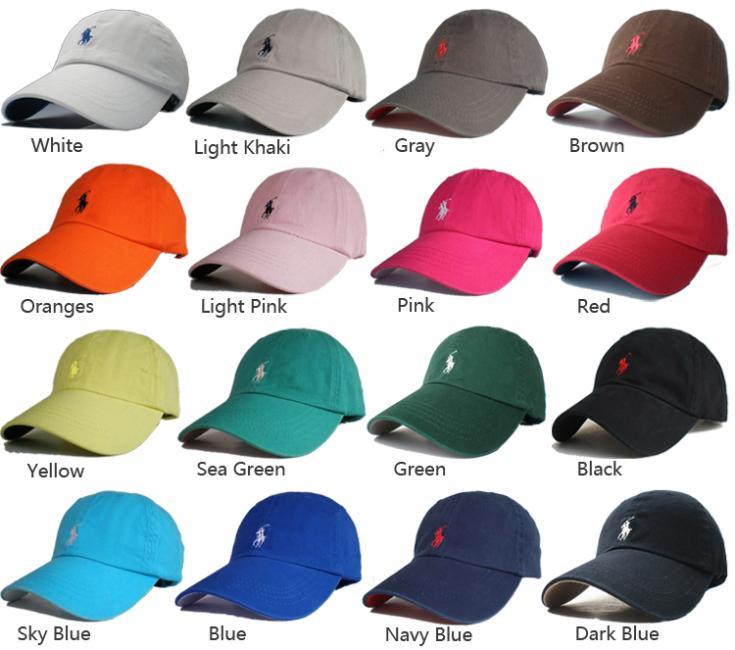 Hot Sale Outdoor dome Sun cap Man Woman Unisex cotton hat Pony Golf Tennis baseball  Cap leather strap Free Shipping PO10 b97ee7846bb