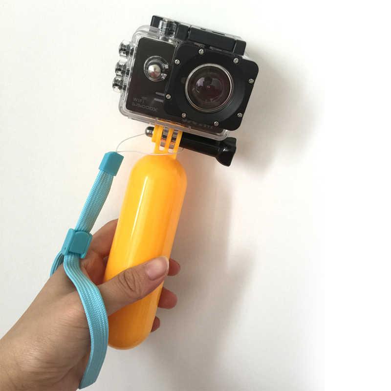 Действий Камера аксессуары Selfie Stick Ручной штатив-поплавок для Go Pro Hero 5 4 спортивной экшн-камеры Xiaomi yi SJCAM SJ4000 M20 eken H9 H9R