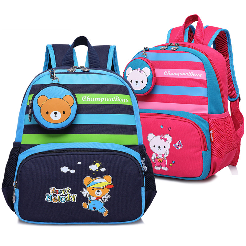 773541d16a Quality Kindergarten Children Backpack Kids Bag Baby School Bags for Girls  and Boys Small School Backpack mochila infantil-in School Bags from Luggage  ...