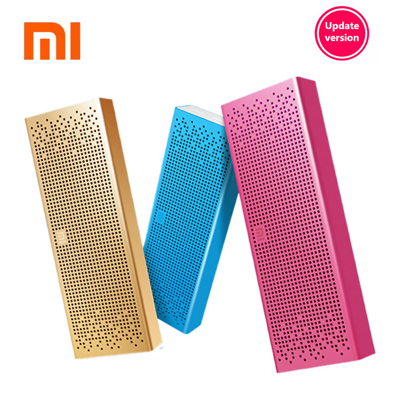 Original Xiaomi Mi Bluetooth Speaker Portable Wireless Mini Speaker Micro SD Card Aux in BT4.0 for IPhone and Android Phones wireless bluetooth speaker cute mushroom waterproof sucker mini bluetooth speaker audio outdoor portable bracket for xiaomi ipad