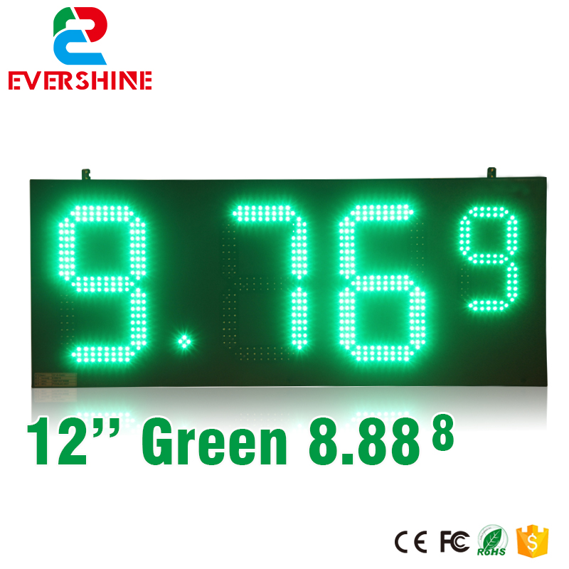 hd high quality led gas price display sign outdoor led billboard green color 12'' outdoor led display screen hd high quality led gas price display sign outdoor led billboard green color 12 outdoor led display screen