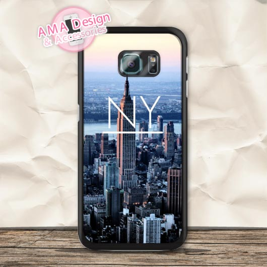NY New York City Case For Galaxy S8 S7 S6 Edge Plus Plus S5 mini S4 active Core Prime Win Ace Note 5 4