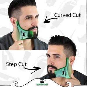 Image 5 - Beard Trimmers ผมแปรงโกนหนวด Beard Shaping จัดแต่งทรงผม Man Beard Trim แม่แบบตัด molding Hair clipper beard การสร้างแบบจำลอง