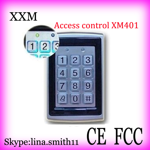 Good Quality Waterproof Standalone Access Control,125KHZ Single Door Access Control with Metal casing XM401 good quality metal access control card reader standalone single door access controller with touch keypad 8000 users capacity