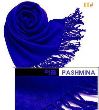 Free Shipping wholesale/retail 2015 New Cashmere Pashmina Silk Solid Scarf Shawl Wrap Hot