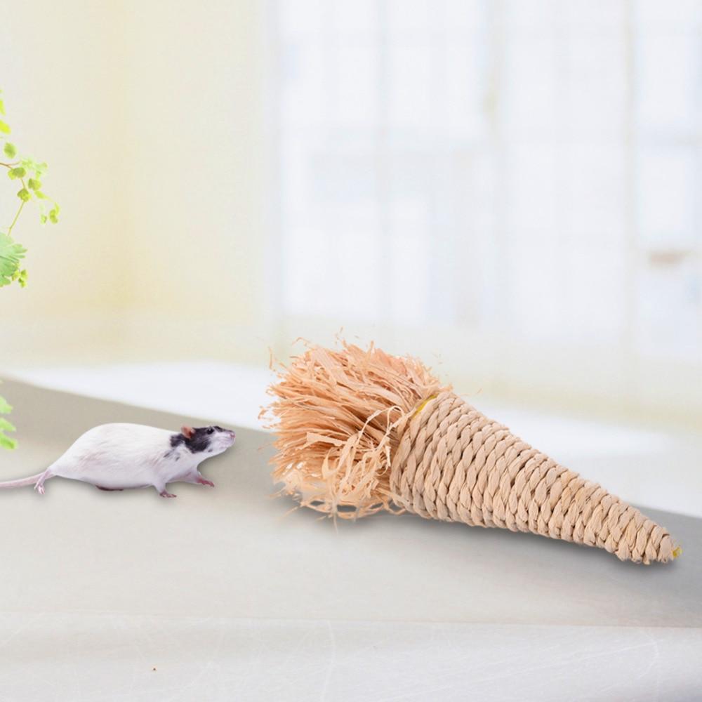 Lovely Grass Wortel Radijs Molair Speelgoed voor kleine huisdieren - Producten voor huisdieren
