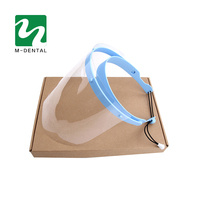 Dental Face Mask Professional Dental Protective Cover 1 Shelf 10Pcs Dental Face Shield Detachable Face Shield
