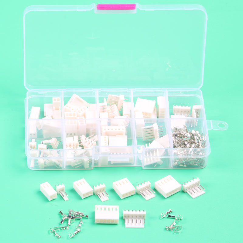 35 sets Kit in box 2p 3p 4p 5 pin 6pin 2.54mm Pitch Terminal / Housing / Pin Header Connector Wire Connector Adaptor kf2510 Kits 60 sets kit 2p 3p 4pin right angle 2 54mm pitch terminal housing pin header connector wire connectors adaptor xh kits in box