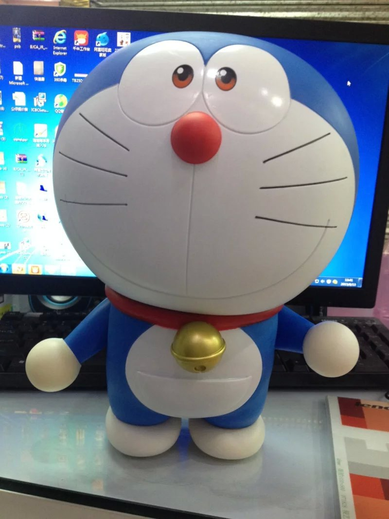 doraemon stand by me pvc action figure toys cm kids toys