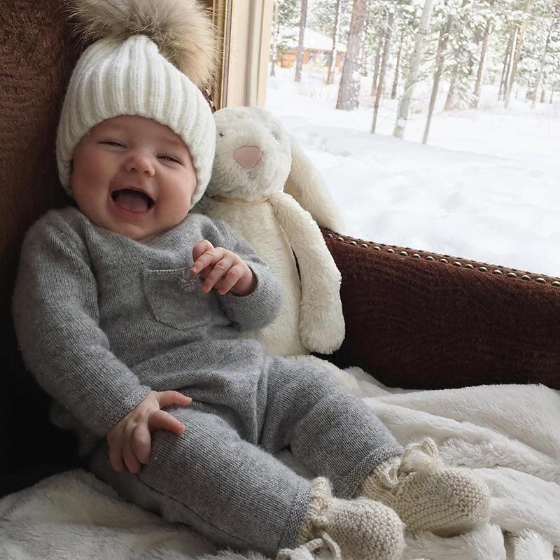 foto de Acheter Bébé Fille Vêtements D hiver Nouveau Né Barboteuses Bebe ...
