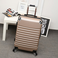 Trolley Case ABS + PC 20inch Wheel Luggage Suitcase Lady Men's Travel Suitcase Student Adult Portable Suitcase Password Suitcase
