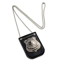 Pretend-Play-Toys Clip-Toys Police Special-Badge Girls Kids Children with Chain And Belt