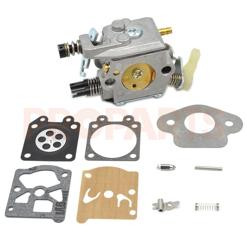Chainsaw Carburetor Carb Repair Kit For Husqvarna 50 51 55 Chainsaw  Walbro Type 503281504 walbro replacement carburetor carb fit for stihl ms170 ms180 017 018 chainsaw carburettor walbro style