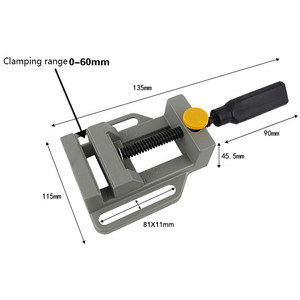 Image 3 - AMYAMY Drill press vise for Drill press stand Power Tool Parts Mini Vice Flat Pliers Mini Bench Clamp repair tools