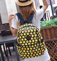New Fashion 2017 EMOJI Canvas School Backpack Smiling Face Day Pack Shoulder Schoolbag Student Kid Unisex Bag