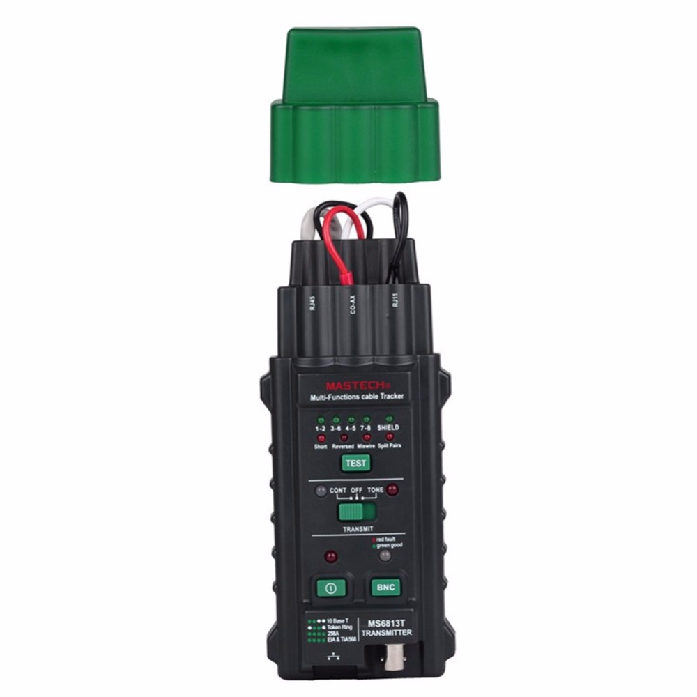 MASTECH MS6813 Cable tracking finder Telephone Wire Tracker Tracer Toner Network Cable Tester Detector Line Finder  цены
