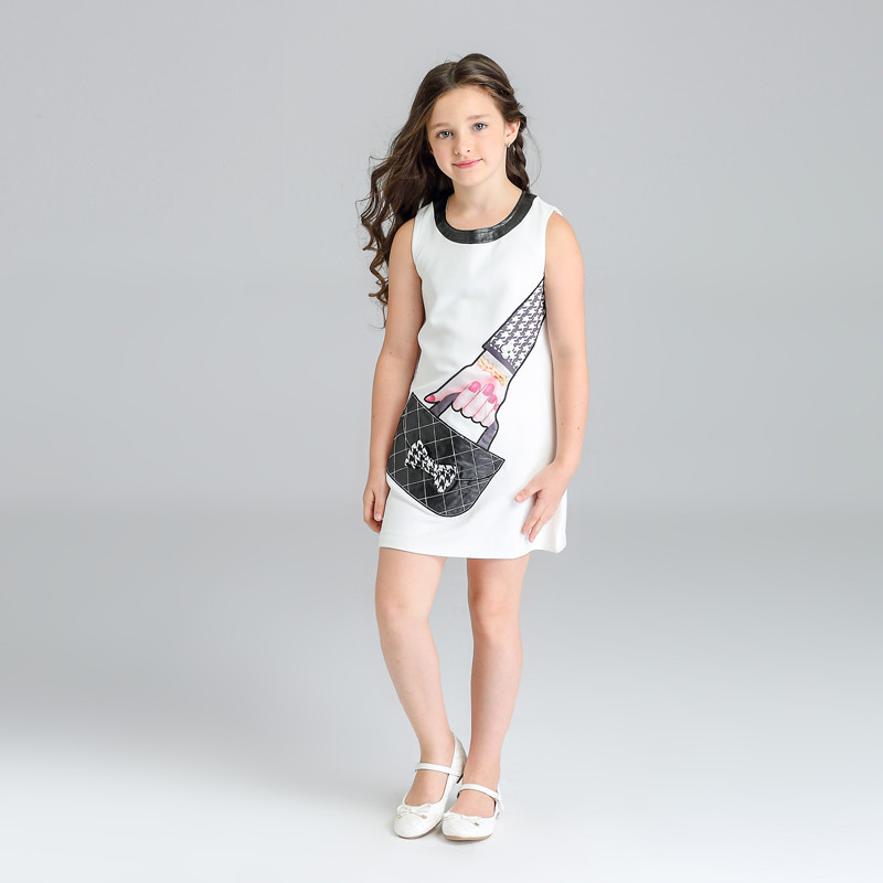 Kids Dresses For Girls Dresses Wedding Roupas Infantis Menina Girls Clothes 8 Years baby Girl Summer Clothes Children Clothing summer girl dresses trade clothing in european and american style age for 3 12 years baby girl clothes with rose jacquard kids