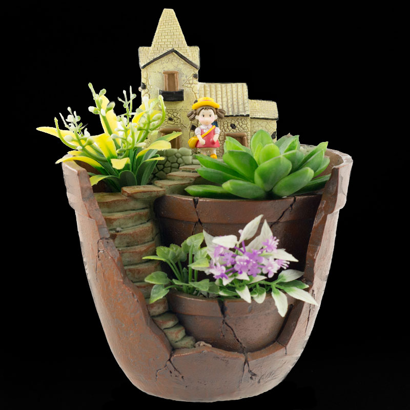Hanging garden pot decorative modern flower pot for for Decorative hanging pots