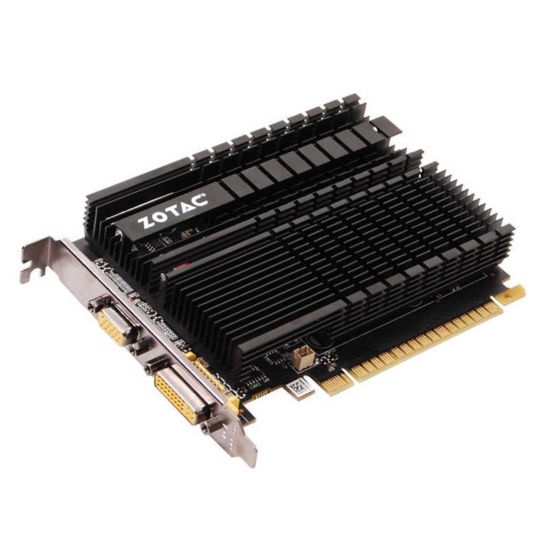 ZOTAC بطاقة الفيديو GeForce GT 610 1 جيجابايت 64Bit GDDR3 بطاقات الرسومات GPU خريطة ل نفيديا الأصلي GT610 1GD3 GT610-1GB Dvi VGA PCI-E