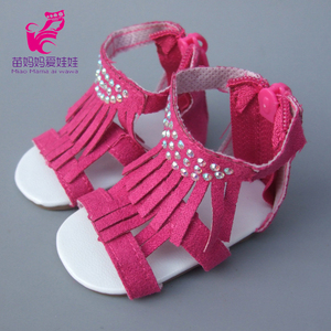 45 см девочка кукла 7 см кукла обувь для 45 см Reborn Baby Doll Сандалии Летняя обувь